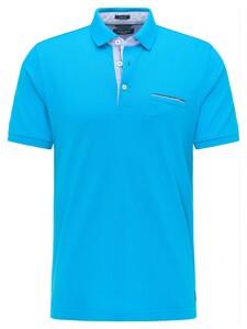 Pierre Cardin Polo Piqué Airtouch Polo Bahamas Blue