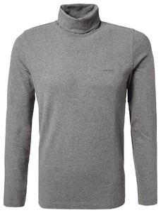 Pierre Cardin Rollneck Jersey Shirt T-Shirt Grijs
