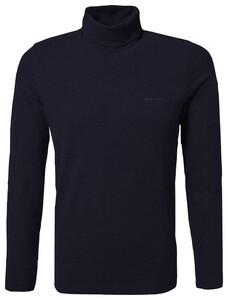 Pierre Cardin Rollneck Jersey Shirt T-Shirt Navy