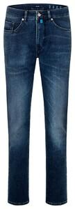 Pierre Cardin Slim Antibes 5-Pocket Jeans Dark Blue