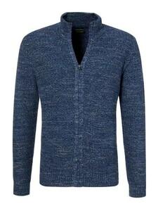 Pierre Cardin Structured Denim Academy Vest Donker Blauw