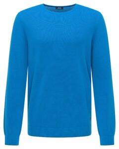 Pierre Cardin Superlight Denim Academy Fine Structure Trui Brilliant Blue