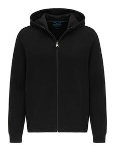 Pierre Cardin Sweatjacket Hoodie Futureflex Cardigan Black