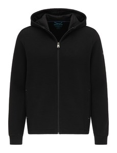 Pierre Cardin Sweatjacket Hoodie Futureflex Vest Zwart