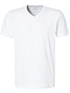 Pierre Cardin T-Shirt V-Neck 2Pack T-Shirt Wit