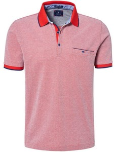 Pierre Cardin Tricolor Airtouch Piqué Polo Vuurrood