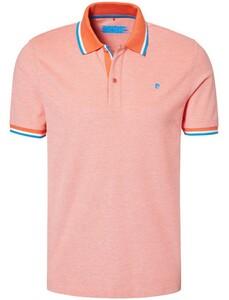 Pierre Cardin Two Color Piqué Futureflex Polo Oranje