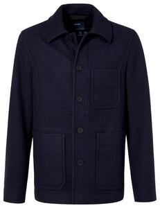 Pierre Cardin Uni Futureflex Wool Mix Jack Navy