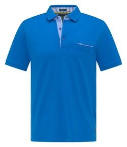Pierre Cardin Uni Piqué Airtouch Polo Blauw