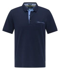 Pierre Cardin Uni Piqué Airtouch Polo Navy Blue Melange
