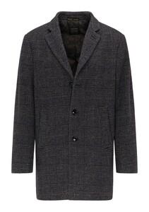 Pierre Cardin Voyage Coat Check Coat Vintage Grey