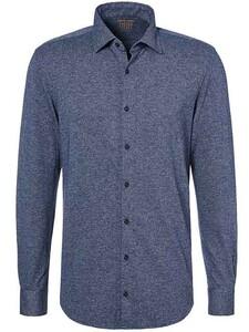 Pierre Cardin Voyage Faux Uni Shirt Blue
