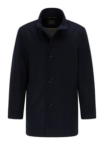 Pierre Cardin Voyage Wool Material Mix Coat Navy