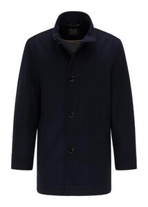 Pierre Cardin Voyage Wool Material Mix Jas Navy