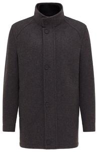 Pierre Cardin Wool Mix Coat Jack Anthra