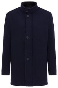 Pierre Cardin Wool Mix Coat Jack Navy