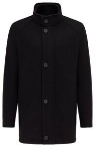 Pierre Cardin Wool Mix Coat Jack Zwart