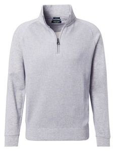 Pierre Cardin Zipper Sweat Denim Academy Trui Grijs