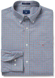 Gant The Broadcloth 3 Color Gingham Smoked Paprika