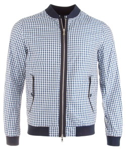 Paul & Shark Fresh Blue Fashion Check Blauw