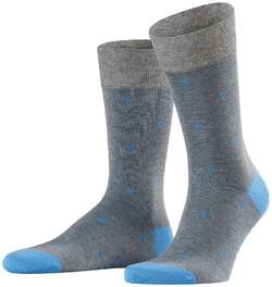Falke Dotted Socks Steel