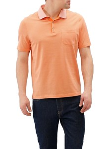 Maerz Uni Contrast Collar Power Orange