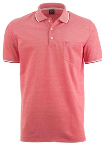 Paul & Shark Two-Tone Mele Polo Rood