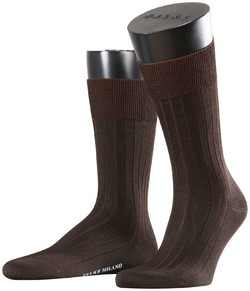 Falke Milano Socks Brown