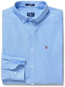Gant Tech Prep Piqué Stripe Capri Blue