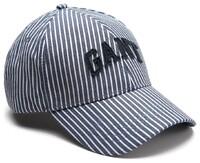 Gant Striped Gant Cap Dark Blue Worn In