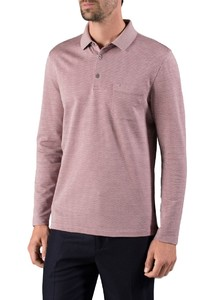 Maerz Polo Long Sleeve Venice Pink