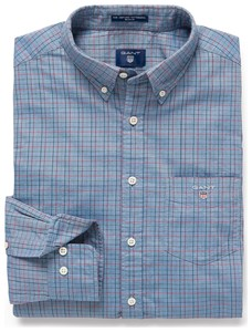 Gant Oxford Tattersall Salty Sea