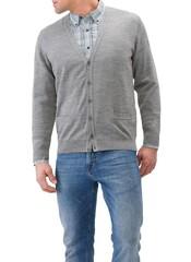 Maerz Knopen Vest Mercury Grey