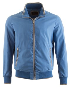 Paul & Shark Super Soft Microfiber Jacket Midden Blauw