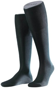 Falke No. 4 Pure Silk Knee High Zwart