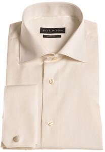 John Miller Dress-Shirt Non-Iron Licht Zand