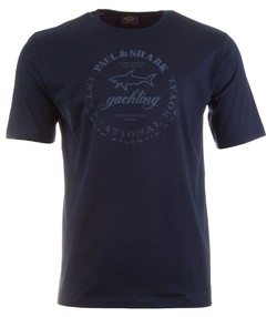 Paul & Shark Shark Logo T-Shirt Navy