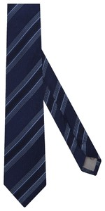 Jacques Britt Fantasy Design Tie Donker Blauw