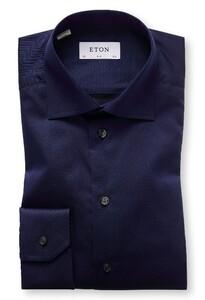 Eton Slim Cutaway Signature Twill Navy