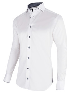 Cavallaro Napoli Florence Shirt Wit