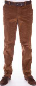 MENS Stretch Corduroy Madrid Mid Brown