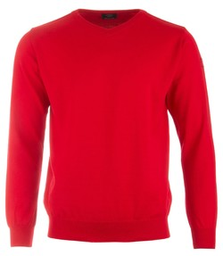 Paul & Shark Basic Merino Extra Fine Rood