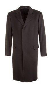 EDUARD DRESSLER Victor Wool-Cashmere Coat Zwart