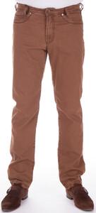 Gardeur Cashmere Cotton Stretch Midden Bruin