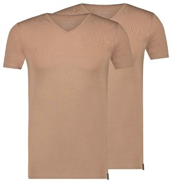 RJ Bodywear 2Pack Good Life Atthens V-Neck Underwear Sand