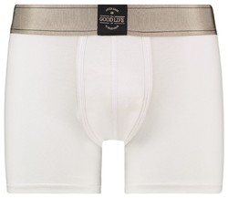 RJ Bodywear Good Life Boxershort Underwear White