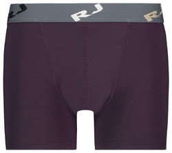 RJ Bodywear Pure Color Boxershort Underwear Aubergine