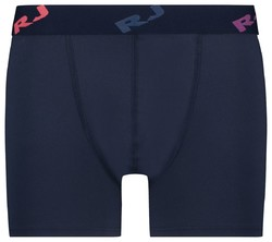 RJ Bodywear Pure Color Boxershort Underwear Dark Evening Blue