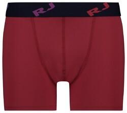 RJ Bodywear Pure Color Boxershort Underwear Dark Red