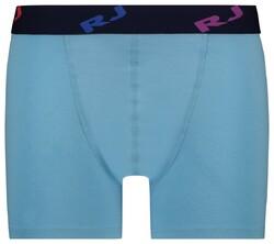 RJ Bodywear Pure Color Boxershort Underwear Light Blue